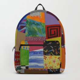 Party patchwork Backpack
