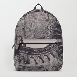 Aerial photography, Ostuni Cathedral, gothic architecture, Roman Catholic Church Backpack