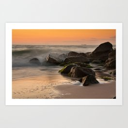 The sea at Old Skagen Art Print