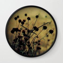 Nature Abstract Wall Clock