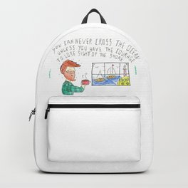 Sight of the shore Backpack