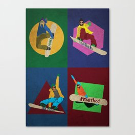 Choose your trick Canvas Print