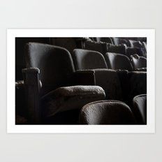 Theater Seats Art Print