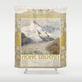 Vintage poster - Hohe Tauern Shower Curtain