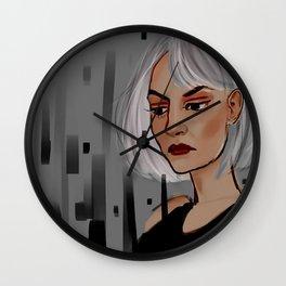 dark swan Wall Clock