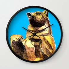 Central Park Bear Wall Clock