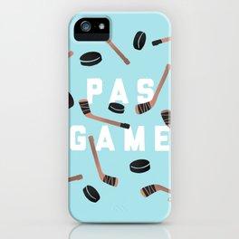 PAS GAME iPhone Case