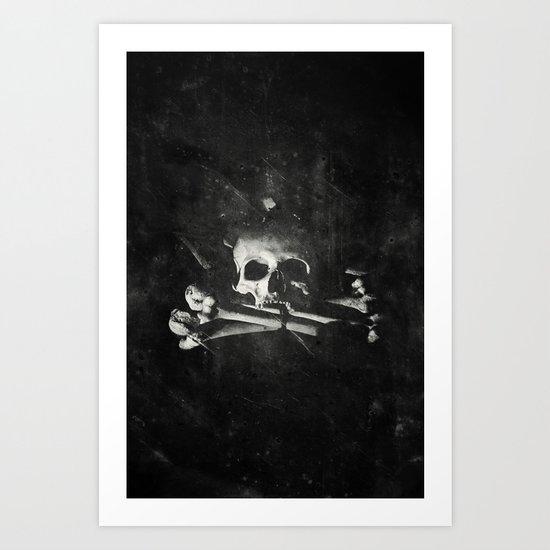 Once Were Warriors V. Art Print