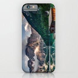 Italy mountains lake iPhone Case