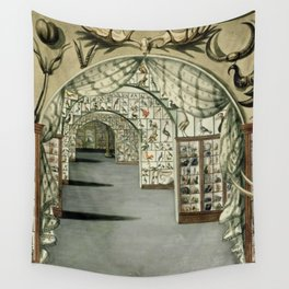 Museum of Curiosities Wall Tapestry