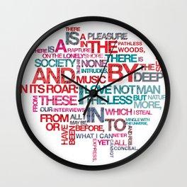 Childe Harold's Wall Clock