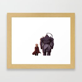 Full metal achemist Framed Art Print