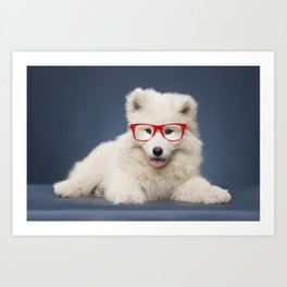 Little puppy Art Print