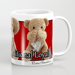 True Friendship is Unconditional Loyalty - Red Coffee Mug