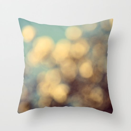 Dance of the Magnolia Blossoms Throw Pillow