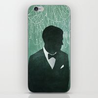 the great gatsby iPhone & iPod Skins featuring The Great Gatsby by Alyssa Scott