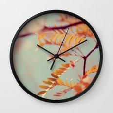 Autumn #2 Wall Clock