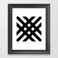 dijagonala v.2 Framed Art Print