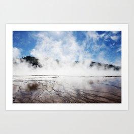 Yellowstone National Park 3 Art Print