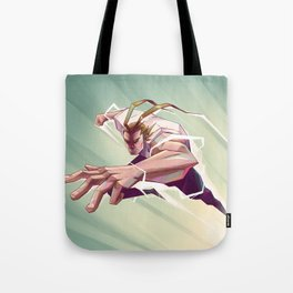 All Might Tote Bag