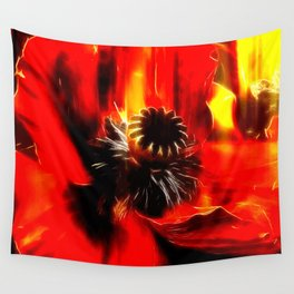 Mohnblüte Wall Tapestry