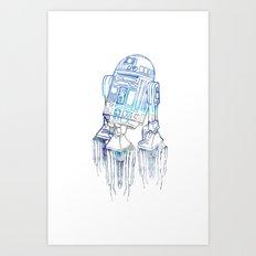 R2D2 Print Art Print