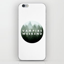Vampire Weekend trees logo iPhone Skin