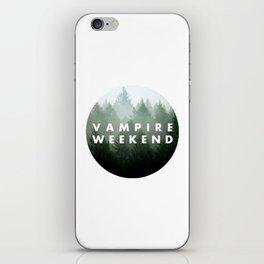 Vampire Weekend trees logo iPhone Skin