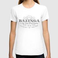 bazinga T-shirts featuring Bazinga Vintage by Nxolab