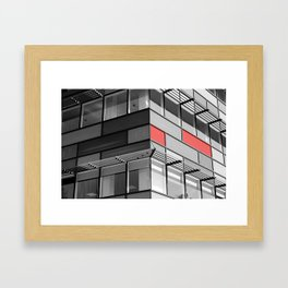 Glass City 3 Framed Art Print