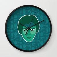 han solo Wall Clocks featuring Han Solo by Kuki