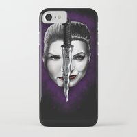 swan queen iPhone & iPod Cases featuring Swan Queen by ibeenthere