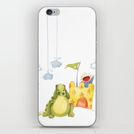 Baby castle iPhone Skin