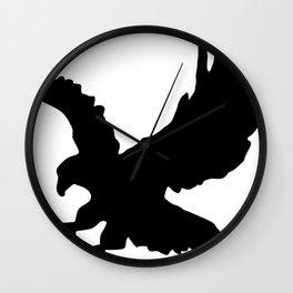 Eagle Silhouette Wall Clock