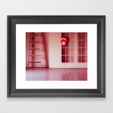 Deflated Love Framed Art Print