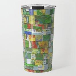 Colorburst Collage Travel Mug
