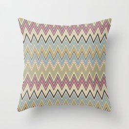 Ethnic patterns. Tribal pattern . Throw Pillow