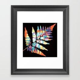 Fern in disguise - autumn Framed Art Print