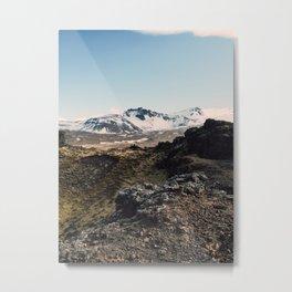 Saxholl Iceland  Metal Print
