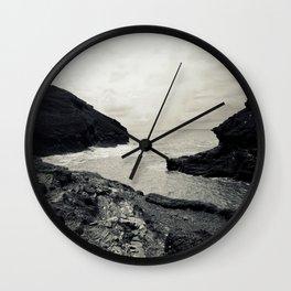 Boscastle Harbour Wall Clock