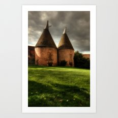 Oast House Art Print