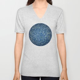 Constellations of the Northern Sky - Negative version Unisex V-Neck