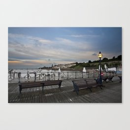 Swanage Pier Canvas Print