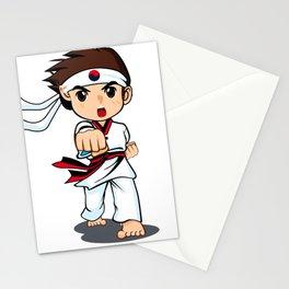 Taekwondo Boy Stationery Cards