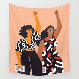 Feminism is for everybody Wall Tapestry