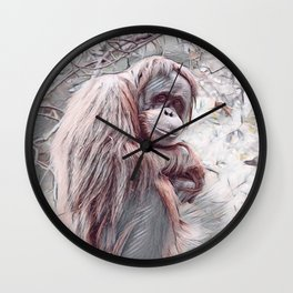 Will Never Know Freedom Wall Clock