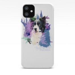 Border Collie T-Splash Art Dog Owner Gift iPhone Case