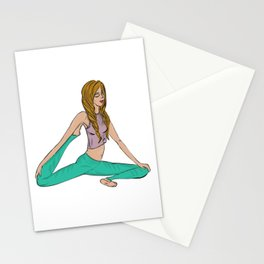Yoga Zen Stationery Cards