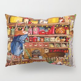 Christmas with Mice Pillow Sham