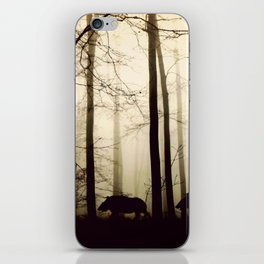 Night in the forest iPhone Skin